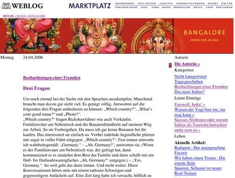 TN_Bangalore Drei Fragen