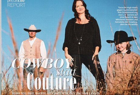 Cowboy statt Couture
