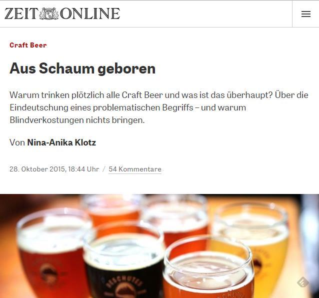 craft beer zeit online nina anika Klotz